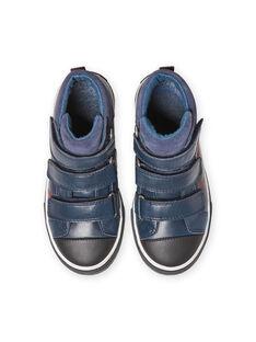 Sapatilhas azul-marinho menino MOBASTRIVNAVY / 21XK3653D3F070