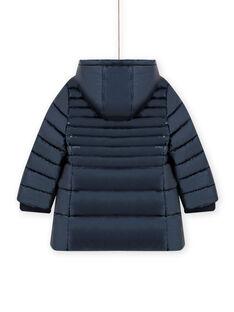 Blusão azul metalizado menina MALONDOUN2 / 21W90162D3E070