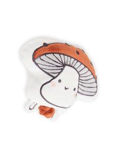 Peluche padrão cogumelo suave recém-nascido unissexo MOU1BOI2 / 21WF4241JOU001
