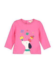 T-shirt mangas compridas bebé menina FICOTEE / 19SG0981TML030