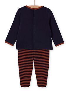 Conjunto pijama com padrão de cão menino MEGAPYJDOG / 21WH1481PYJC205