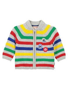Casaco com zip de lã bebé menino FUCOGIL / 19SG1081GIL099