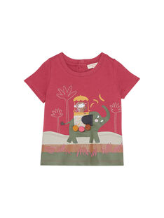 T-shirt Mangas Curtas Rosa JUDUTI2 / 20SG10O2TMC312