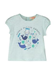 T-shirt mangas curtas bebé menina FINETI / 19SG09B1TMCC216