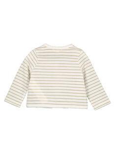 Casaco algodão estampado bebé menina FICUCAR / 19SG09N1CAR000