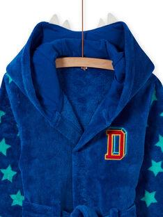 Roupão azul com padrão de urso menino MEGOROBOURS / 21WH1281RDC702