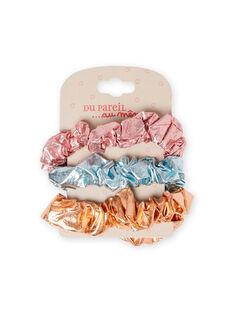 Pack de 3 elásticos a condizer menina MYAJOELA4 / 21WI01S2ELAK008