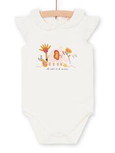Body cru bebé menina LITERBOD / 21SG09V1BOD001