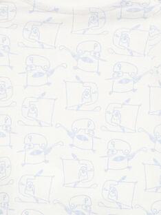 T-shirt de mangas compridas em jersey bebé menino GUBLATEE2 / 19WG10S2TML001