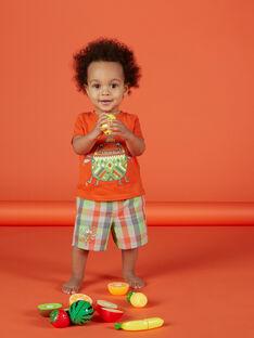 Bermudas quadrados bebé menino FUYEBER3 / 19SG10M3BER099
