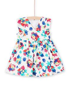 Vestido estilo envelope estampado bebé menina JIMARROB1 / 20SG09P1ROB000