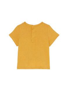 T-shirt Mangas Curtas Castanho JUDUTI1 / 20SG10O1TMC804