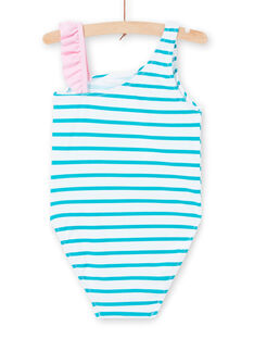 Turquoise SWIMSUIT LYAMER2 / 21SI01DBMAIC216