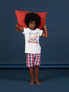 Pijama branco criança menino LEGOPYCOMAR / 21SH12C3PYJ000