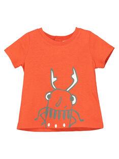 T-shirt de mangas curtas bebé menino FUJOTI9 / 19SG10G4TMC400
