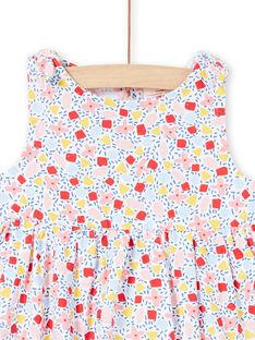 Vestido branco bebé menina LIPLAROB2 / 21SG09T2ROB000
