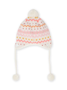 Gorro malha padrão veado bebé menina MYISAUBON1 / 21WI0954BON001