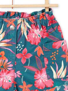 Calções com estampado flores havaianas LABONSHORT3 / 21S901W1SHO716