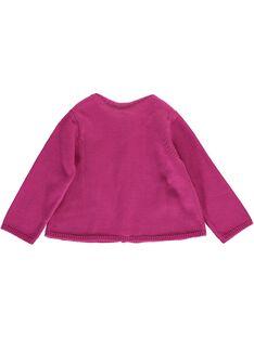 Baby girls' cardigan CIDOUCAR2 / 18SG09J2CAR706