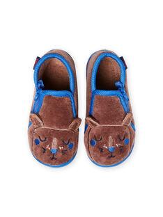 Pantufas toupeira padrão leão bebé menino MUPANTLION / 21XK3833D0A803