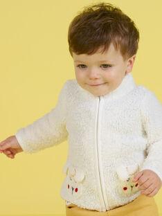 Casaco de malha cru padrão ovelha bebé menino MUMIXGIL / 21WG10J1GIL001