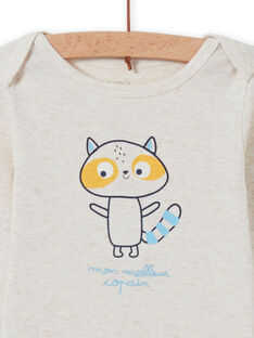 Body cru padrão guaxinim bebé menino MEGABODCOP / 21WH14C6BDL006