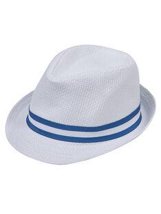 Chapéu bebé menino branco com fita azul JYUPOECHA / 20SI10G1CHA000