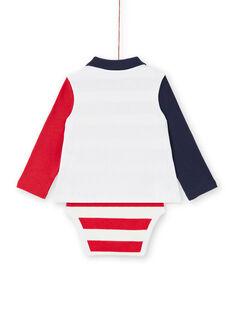 Body cru bebé menino LUHABOD1 / 21SG10X2BOD001