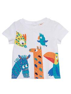 T-shirt Mangas Curtas Branco JUMARTI1 / 20SG10P2TMC000