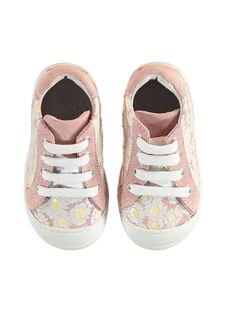 Sapatilhas rosa-pálido bebé menina JBFBASFLOW / 20SK37Y1D3F301