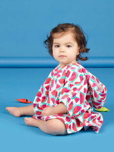 Capa de banho melancias bebé menina LYICAP / 21SI09D1CDB000
