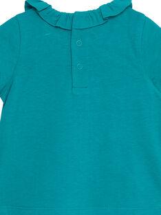 Camisola turquesa menina JIJOBRA8 / 20SG09T3BRA621