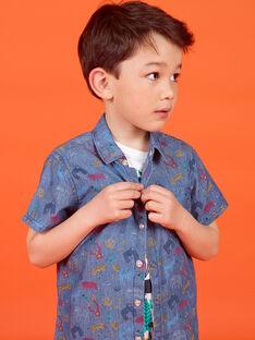 Camisa mangas curtas menino LOVICHEM / 21S902U1CHM721