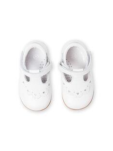 Salomés brancas bebé menina LBFSALCOEUR / 21KK3733D13000