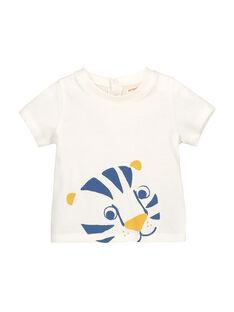 T-shirt de mangas curtas bebé menino FUJOTI2 / 19SG1032TMC001