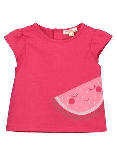T-shirt fantasia bebé menina FIJOTI6 / 19SG09G1TMC304