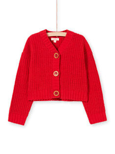 Casaco vermelho menina MACOMCAR1 / 21W901L2CAR408