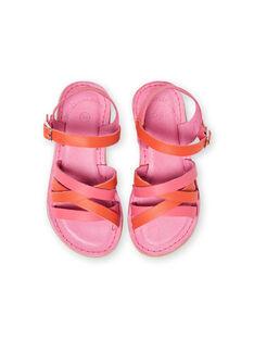 Sandálias rosa menina LFSANDCLARA / 21KK3552D0E304