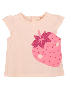 T-shirt fantasia bebé menina FIJOTI9 / 19SG09G4TMC301