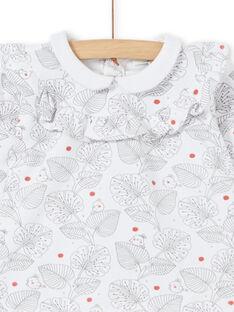Conjunto blusa com folhos e leggings nascimento menina LOU1ENS2 / 21SF03H1ENS000