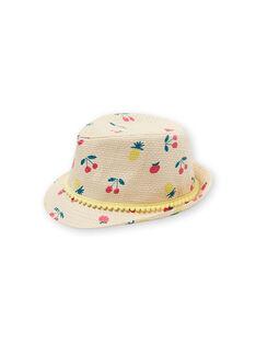 Chapéu de palha criança menina LYAMERHAT / 21SI01D1CHA116