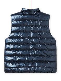 Blusão reversível azul-marinho e rosa menina MAPADOUNEX / 21W90157D3E070