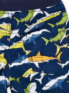 Bermudas estampadas azul criança Menino LONAUBER / 21S902P1BER070