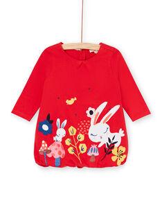 Camisola vermelha bebé menina LIHAROB3 / 21SG09X2ROB505