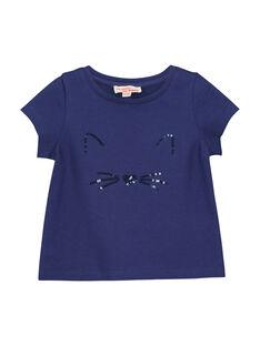 T-shirt mangas curtas bebé menina FIJOTI4 / 19SG0934TMC703