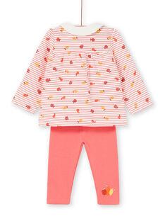 Conjunto conforto Blusa & leggings Bebé menina LINAUENS2 / 21SG09L1ENS318