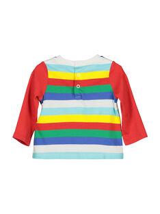 T-shirt de mangas compridas bebé menino FUCOTEE1 / 19SG1081TML099
