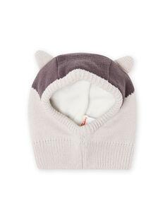 Barrete cinzento com padrão de guaxinim bebé menino MYUSAUBON2 / 21WI1065BONJ920