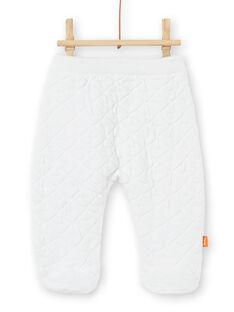 Conjunto branco em malha nascimento unissexo LOU1ENS4 / 21SF05H1ENS000