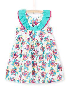 Vestido sem mangas com estampado florido menina JAMAROB4 / 20S901P1ROB000